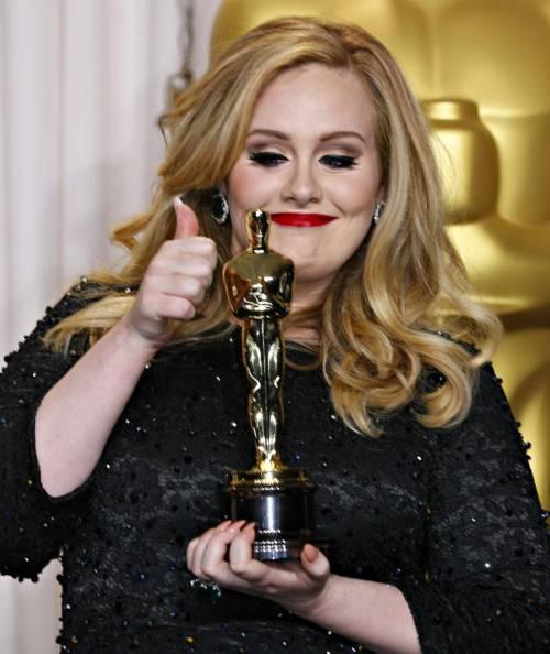 La cantante Adele, le foto 10