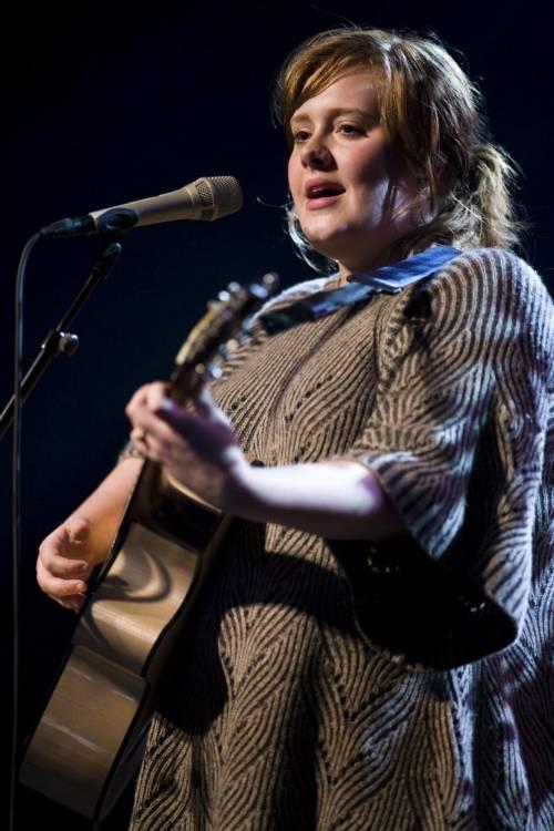 La cantante Adele, le foto 7