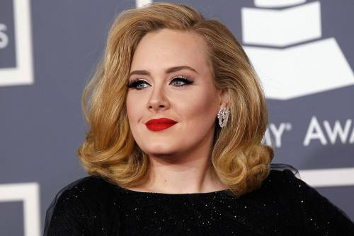 La cantante Adele, le foto 12