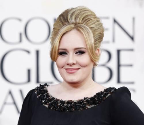 La cantante Adele, le foto 11