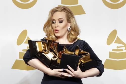 La cantante Adele, le foto 13