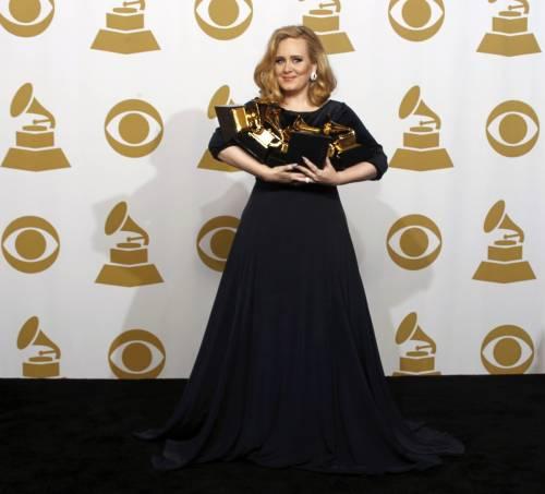 La cantante Adele, le foto 15