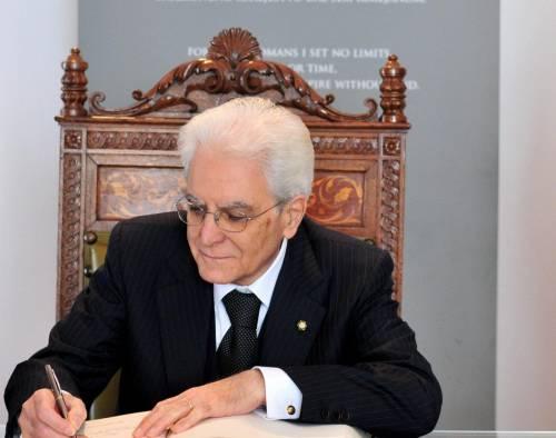 Il presidente Mattarella non sarà sordo