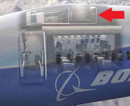 Ecco dove dormono le hostess sugli aerei 3