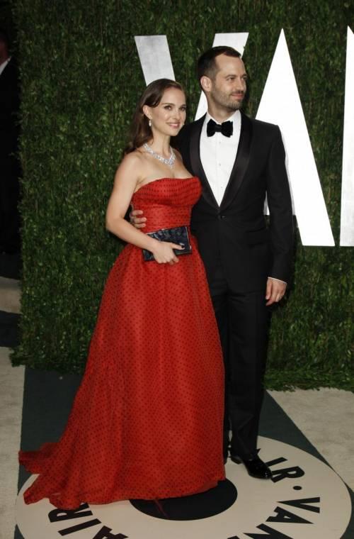 Natalie Portman e il marito Benjamin Millepied  2