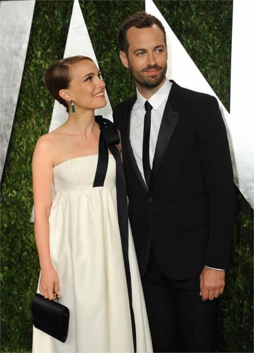 Natalie Portman e il marito Benjamin Millepied  11