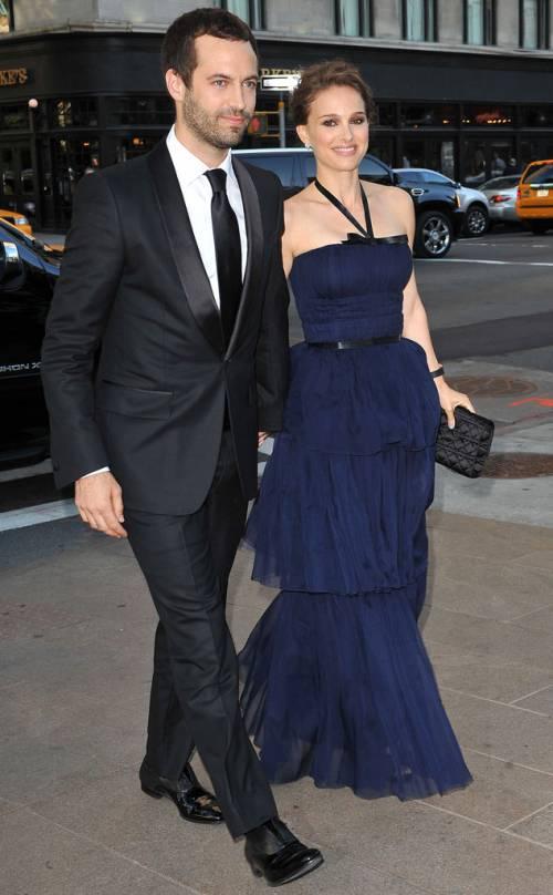 Natalie Portman e il marito Benjamin Millepied  13