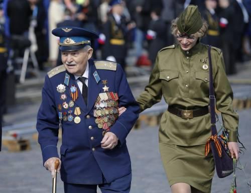 Così la Russia celebra la vittoria sui nazisti 13