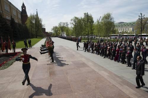 Così la Russia celebra la vittoria sui nazisti 14