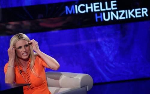 Michelle Hunziker e la gaffe con Fabio Fazio 2