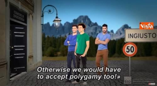 """Propaganda Pd a Bruxelles: """"Senza unioni gay l'Italia rischia la poligamia"""""""