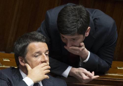 Matteo Renzi e Roberto Speranza