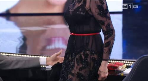 """Pippo Baudo e le """"trasparenze"""" di Amanda Lear 3"""