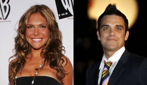 Robbie Williams e la moglie Ayda Field 2