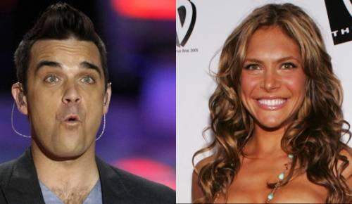 Robbie Williams e la moglie Ayda Field 4