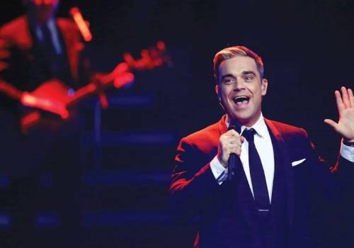Robbie Williams e la moglie Ayda Field 6