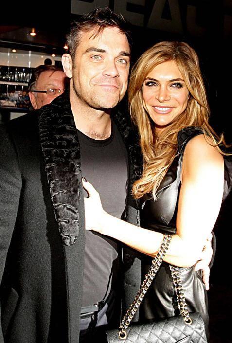 Robbie Williams e la moglie Ayda Field 7
