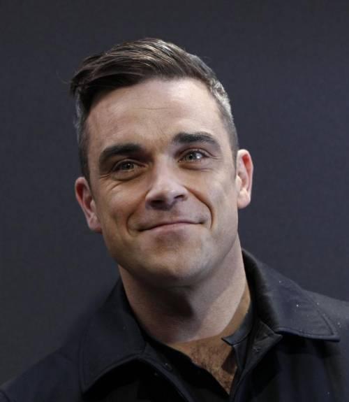Robbie Williams e la moglie Ayda Field 12