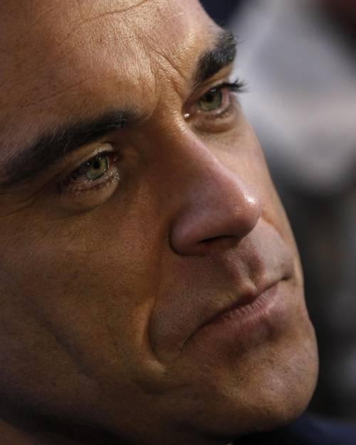 Robbie Williams e la moglie Ayda Field 13
