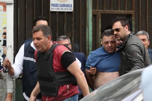 L'arresto dell'uomo che ha aperto il fuoco a Secondigliano 2