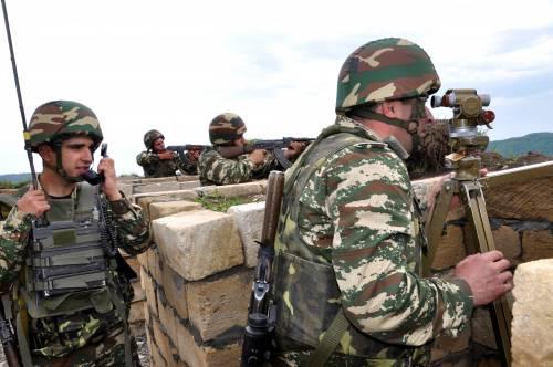 Nagorno Karabak, la trincea degli azeri 9