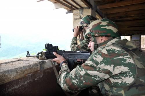 Nagorno Karabak, la trincea degli azeri 10