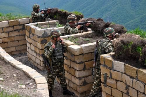 Nagorno Karabak, la trincea degli azeri 3