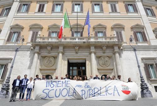 Proteste contro la riforma della scuola 5
