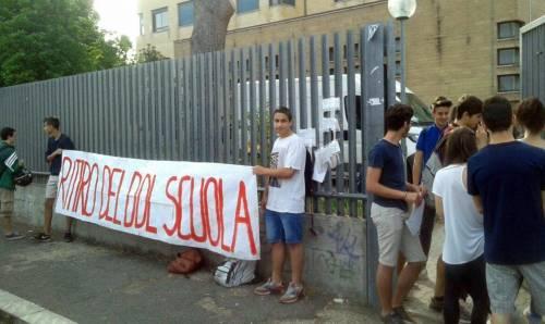Proteste contro la riforma della scuola 3
