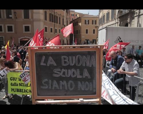 Proteste contro la riforma della scuola 7