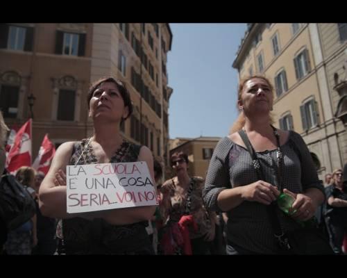 Proteste contro la riforma della scuola 8