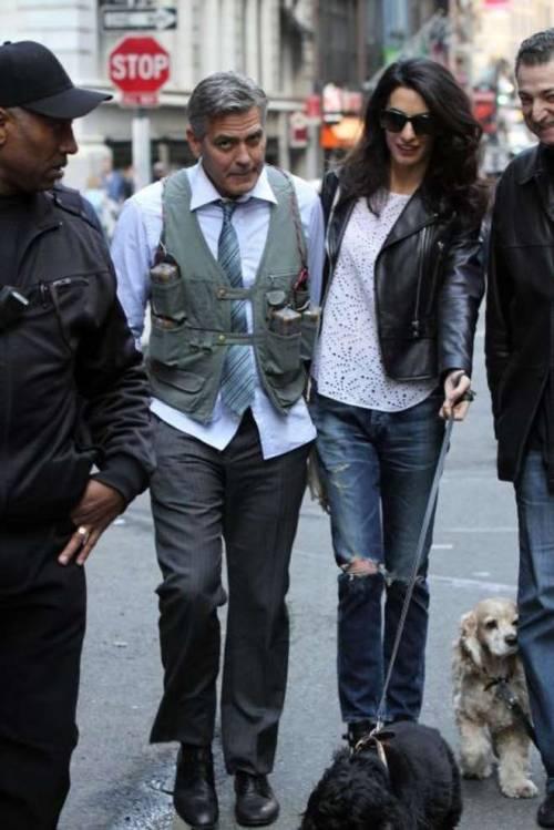 George Clooney svela la romantica proposta fatta ad Amal 7