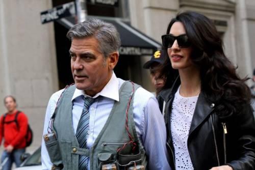 George Clooney svela la romantica proposta fatta ad Amal 9