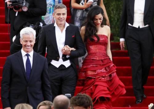 George Clooney svela la romantica proposta fatta ad Amal 13