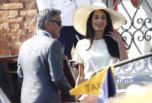 George Clooney svela la romantica proposta fatta ad Amal 15