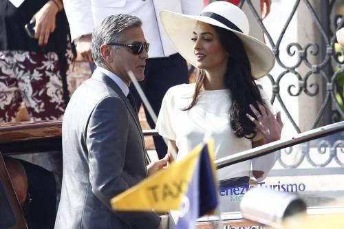 George Clooney svela la romantica proposta fatta ad Amal 17
