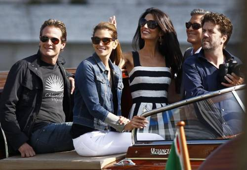 George Clooney svela la romantica proposta fatta ad Amal 20