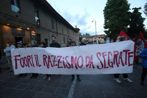 Segrate, Salvini attaccato dagli antagonisti 2