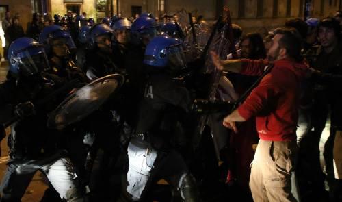 Segrate, Salvini attaccato dagli antagonisti 7
