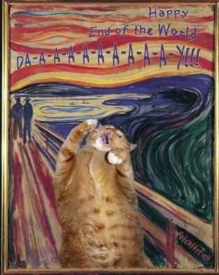 Vittorio Sgarbi invaso da immagini di gatti 3