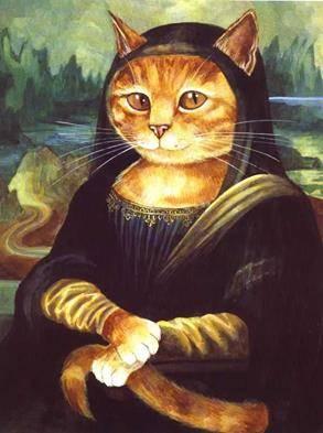 Vittorio Sgarbi invaso da immagini di gatti 5