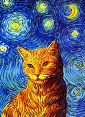 Vittorio Sgarbi invaso da immagini di gatti 7