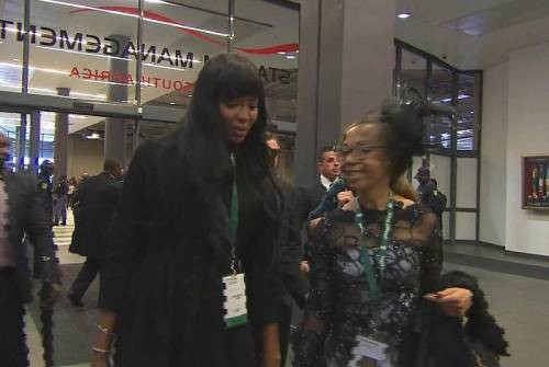 Naomi Campbell, 45 anni da Venere Nera 3