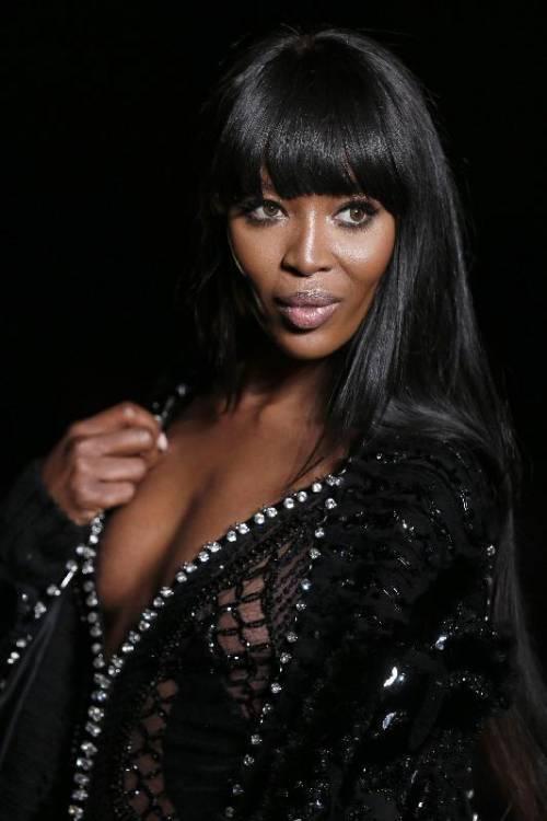 Naomi Campbell, 45 anni da Venere Nera 6