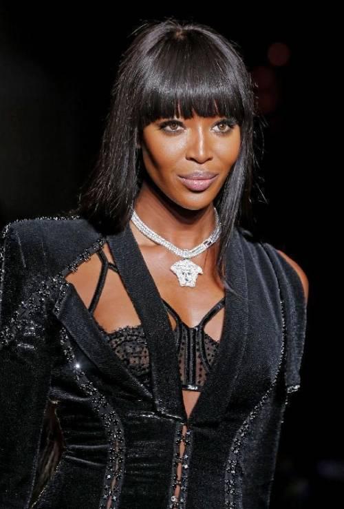 Naomi Campbell, 45 anni da Venere Nera 7