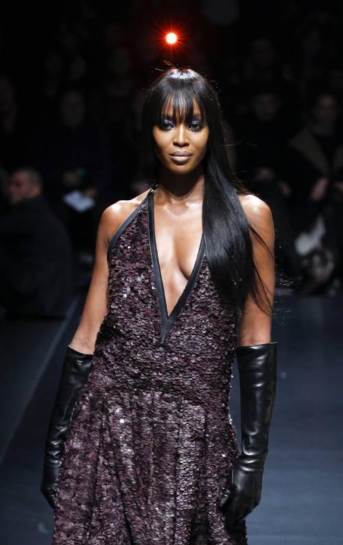 Naomi Campbell, 45 anni da Venere Nera 39