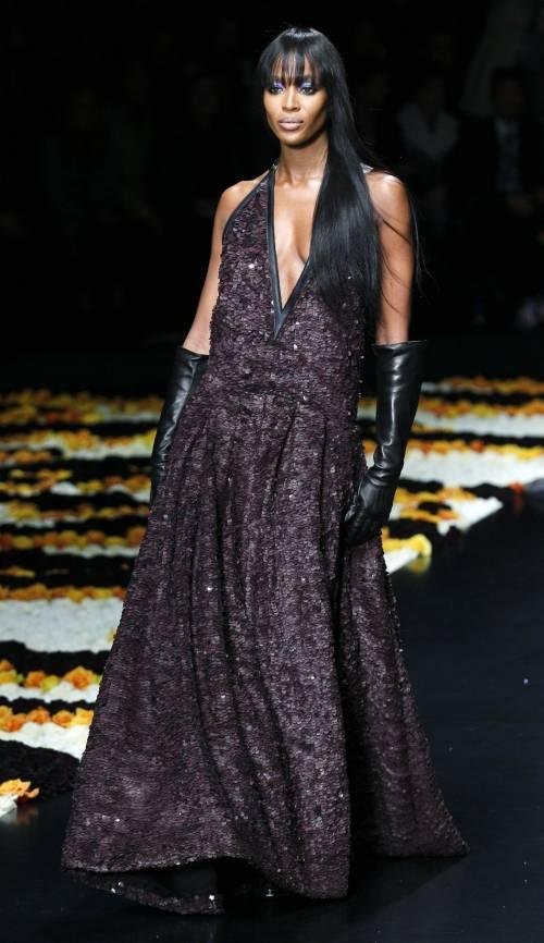 Naomi Campbell, 45 anni da Venere Nera 41