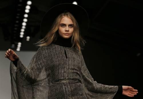 Cara Delevigne, gli occhi più belli della moda 2