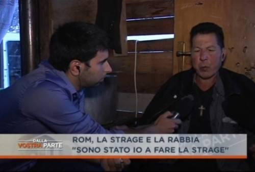 """Incidente, il padre del rom: """"Ero io alla guida di quell'auto"""" Del Debbio: """"Ma lei è sbronzo"""""""