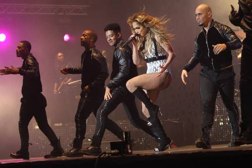 Show di J.Lo in Marocco